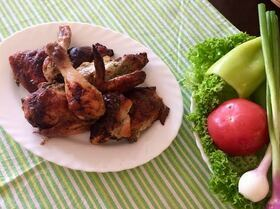 Tandoori-Style Chicken (Курочка)