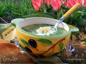 Зеленый борщ (cтарый рецепт на новый лад)