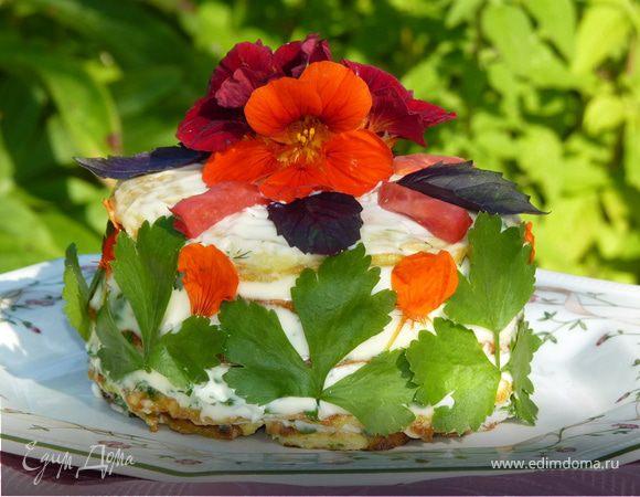 Кабачковый тортик