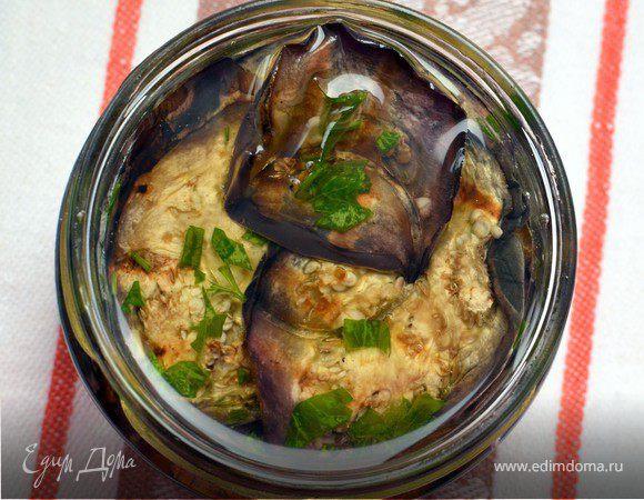 Баклажаны-гриль в растительном масле (Melanzane sott'olio)