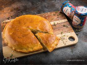 Пирог с тунцом и шнитт-луком