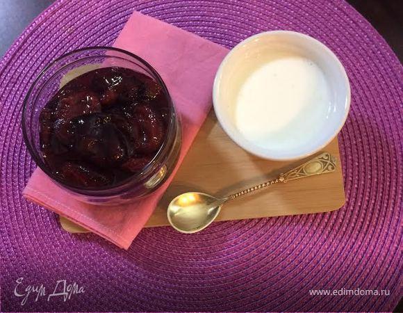 Сливовый Десерт (Plum Compote)