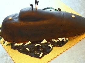 Торт «Подводная лодка»