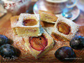 Осенний сливовый пирог
