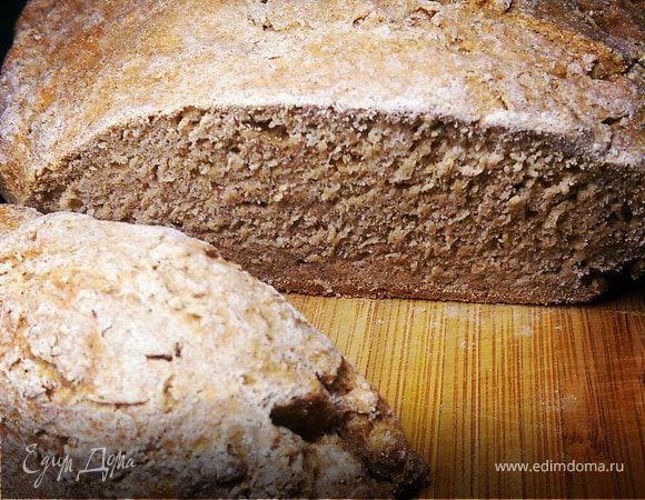 Хлеб ржаной бездрожжевой