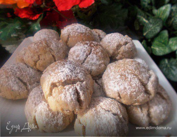 Grhriyba bahla (традиционное марокканское печенье)