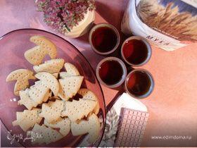Медово-имбирное печенье