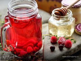 Ягодный чай с медом