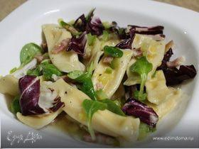Равиоли со сливочно-сырным кремом