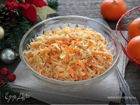 Салат из жареного корневого сельдерея