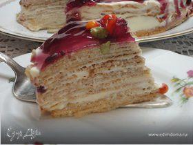Блинный торт с маскарпоне