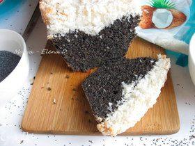 Маковый пирог «В кокосовых облаках»