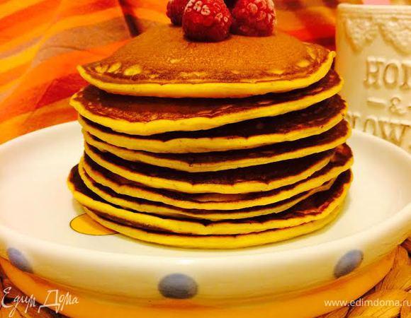 Панкейки (Pumpkin pancakes)