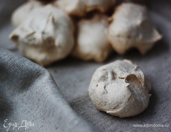 Белковое печенье с орехами