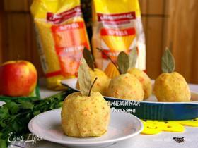 Картофельные «яблоки» с начинкой из пшена