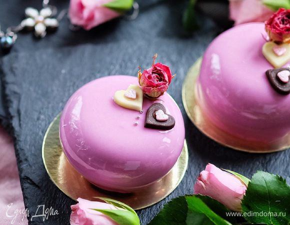 Шоколадные муссовые пирожные «Первое свидание»