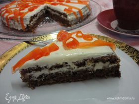 Швейцарский морковный торт (Rubli Kuchen)