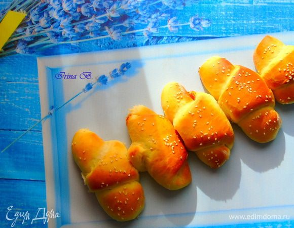 Рогалики на картофельном тесте