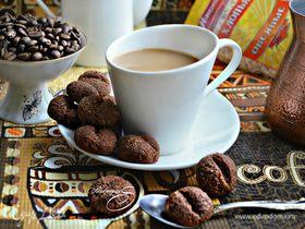 Печенье «Кофейные зерна» (постный вариант)