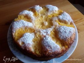 Ананасово-кокосовый пирог