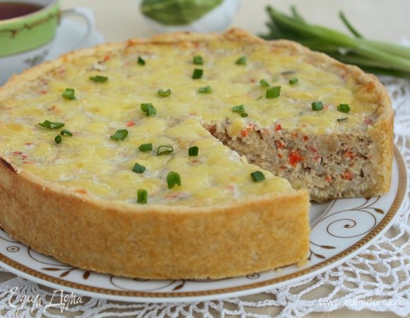 Пирог-суфле с рыбой