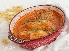 Куриные грудки в томатно-сливочном соусе