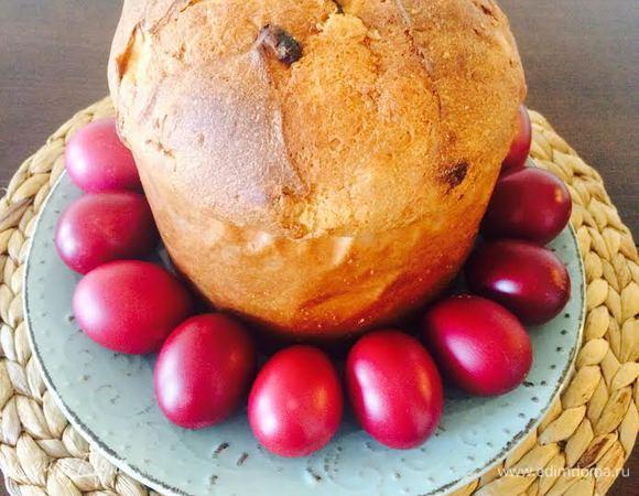 Крашеные яйца (Грузинский способ)