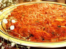 Хек в томатном маринаде