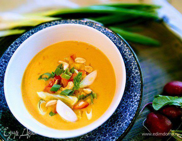 Вегетарианский суп-пюре из батата