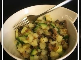 Салат с грибами на обед