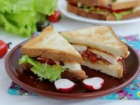 Сэндвич «Цезарь»