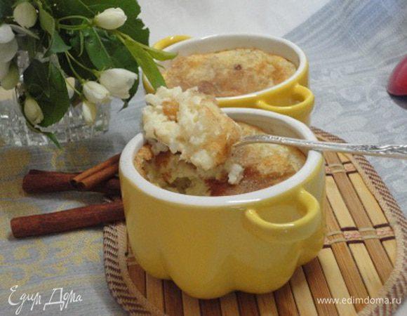 Рисовый пудинг с изюмом и корицей