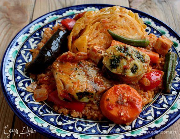 Рыба и рис по-мавритански (Thieboudienne)