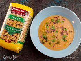 Диетический суп-пюре из гороха