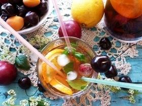 Сангрия на зеленом чае (безалкогольная)