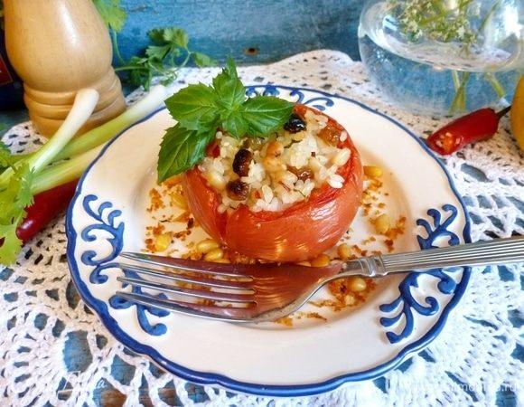 Фаршированные помидоры по-гречески