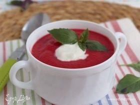 Суп-пюре со свеклой