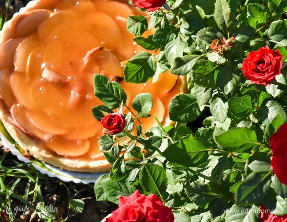Фруктово-мармеладный пирог