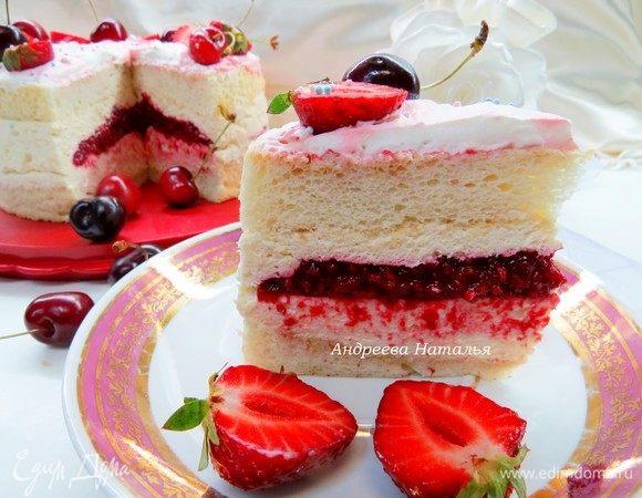 Торт «Пища ангела»