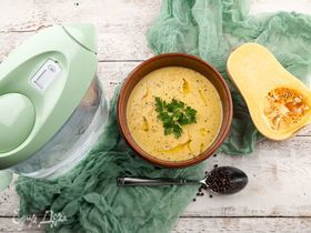 Тыквенно-морковный суп
