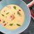Сырный крем-суп с крабовым мясом