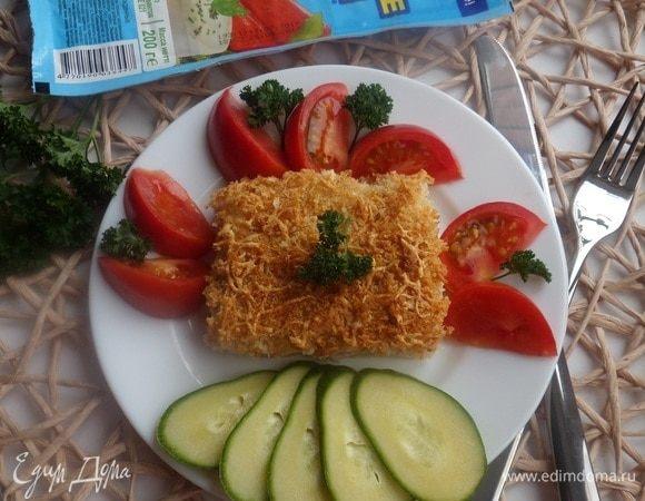 Картофельная запеканка с крабовыми палочками