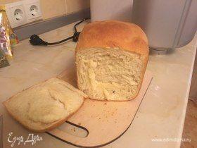 Малодрожжевой хлеб на молоке