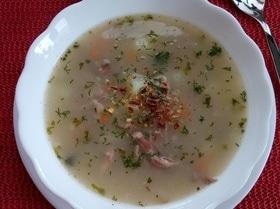 Овсяный суп с индейкой и овощами
