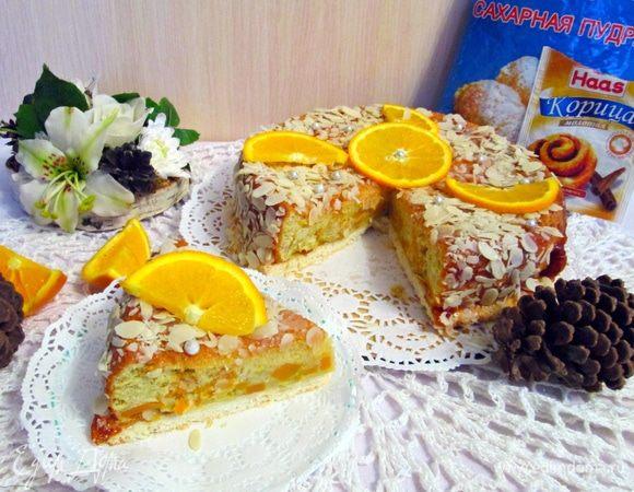 Миндально-тыквенный пирог