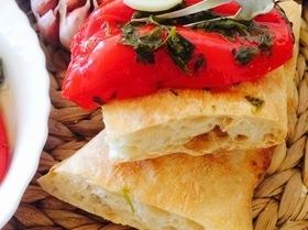 Красный болгарский перец в масле