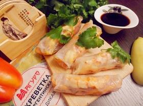 Вьетнамские конвертики с креветками