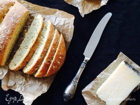 Хлеб с чесноком и кориандром