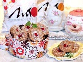Лаймовое печенье на кефире