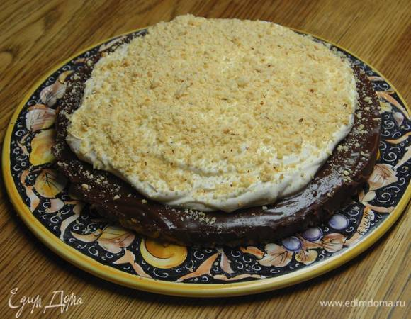 Шоколадно-ореховый тарт